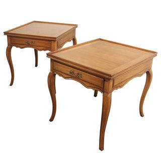 Widdicomb French Provincial Side Tables - A Pair