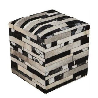 Cool Cowhide Ottoman