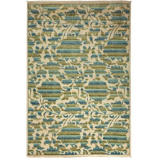 "Arts & Crafts Hand Knotted Area Rug - 6'2"" X 9'"