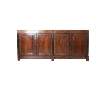 French 19th Century Grand Walnut Empire Enfilade