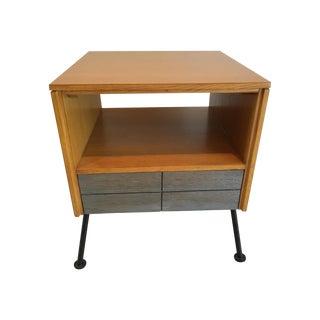Mid-Century Raymond Loewy Side Table Nightstand