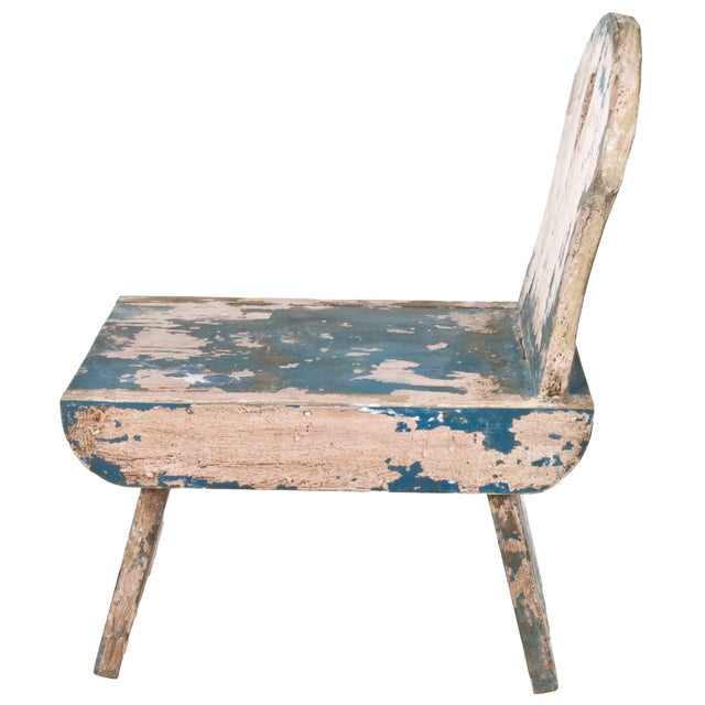 French Farmhouse Milking Stool - Image 4 of 5