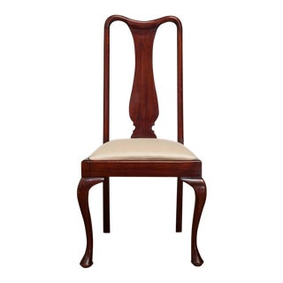 Queen Anne-Style Dining Chairs - Set of 4