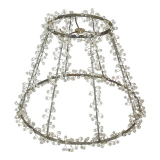 Beaded Lamp Shade Frame