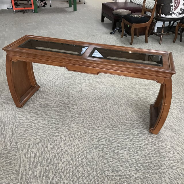 Chinoiserie Asian Style Console Table - Image 3 of 6