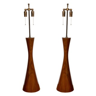 Eichel Walnut Table Lamps