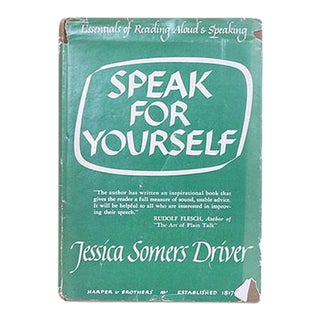 """Speak for Yourself"" Book"