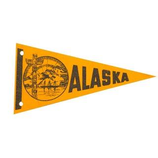 Alaska State Felt Flag