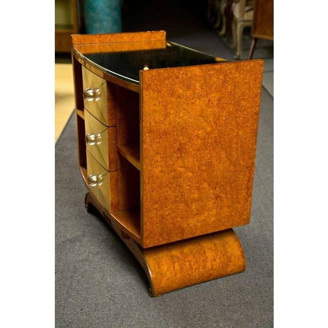 Art Deco Style Nighstands Tables - A Pair - Image 8 of 9
