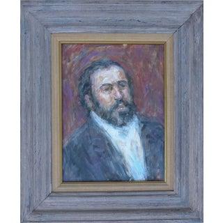 Thomas Strickland Impressionistic Painting of Pavarotti