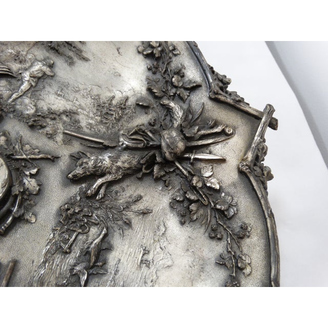 Image of Silver Hunting Trophy Desk Tray