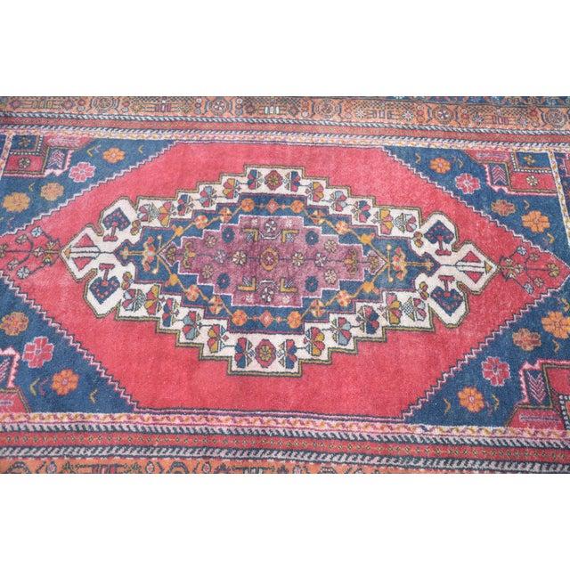 Vintage Anatolian Tribal Turkish Rug - 4′5″ × 7′9″ - Image 5 of 6