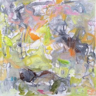 """Okavango Delta"" Abstract Painting"
