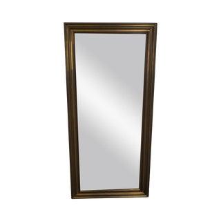 Brass Frame OG Style Beveled Wall Mirror