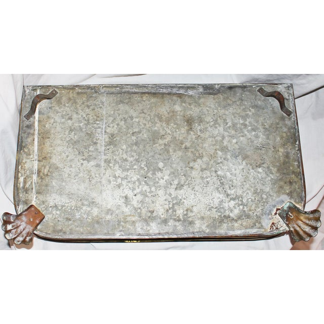 Antique Brass Planter Tray - Image 7 of 7