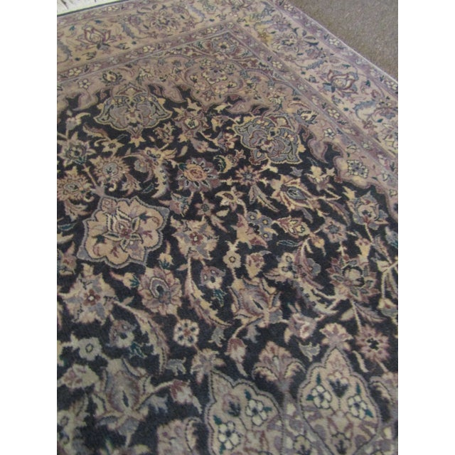 Oriental Blue Mauve & Brown Rug - Image 4 of 5