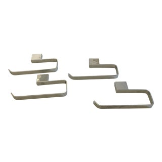Rohl Modern Caswell Hand Towel Holders - Set of 4