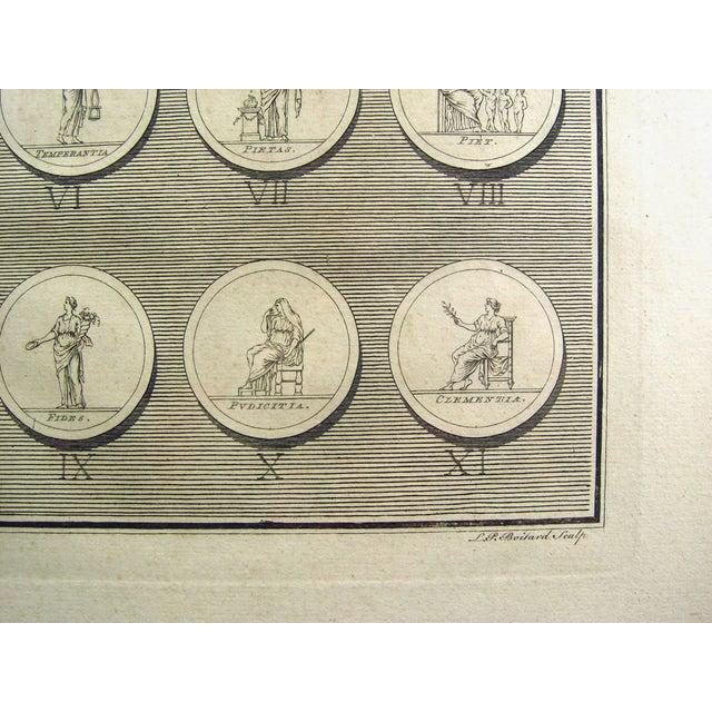 1755 Engraving Roman Medallions - Image 4 of 6