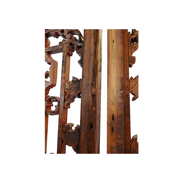 Antique Chinese Doors - A Pair - Image 7 of 8