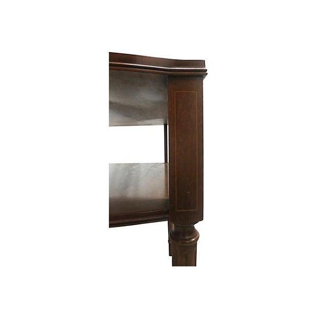 Inlaid Henredon Mahogany Side Tables - Pair - Image 7 of 8