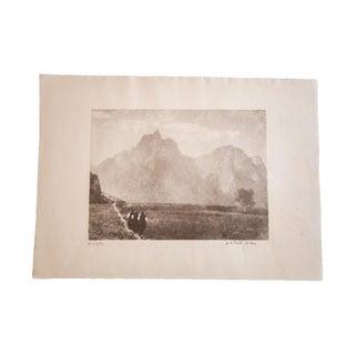 """D.R. Peretti Griva """"Di di Fuerta"""" Print"""