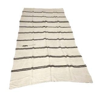 """Vintage Striped Kilim Rug - 5' x 10'6"""""""