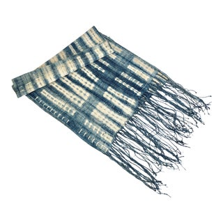 Mali Indigo Textile Throw / Table Runner