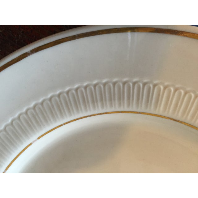 Vintage Restaurant Ware White & Gold Plates - Set of 4 - Image 6 of 9