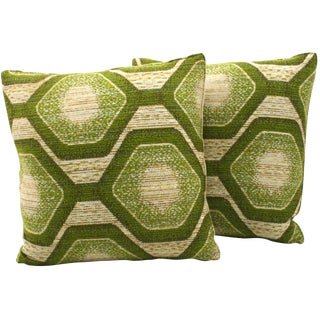 Abstract Hexagon Pillows- A Pair