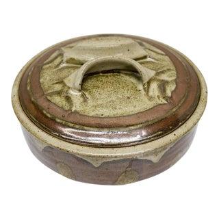 Ceramic Clay Pot With Earthy Glazing