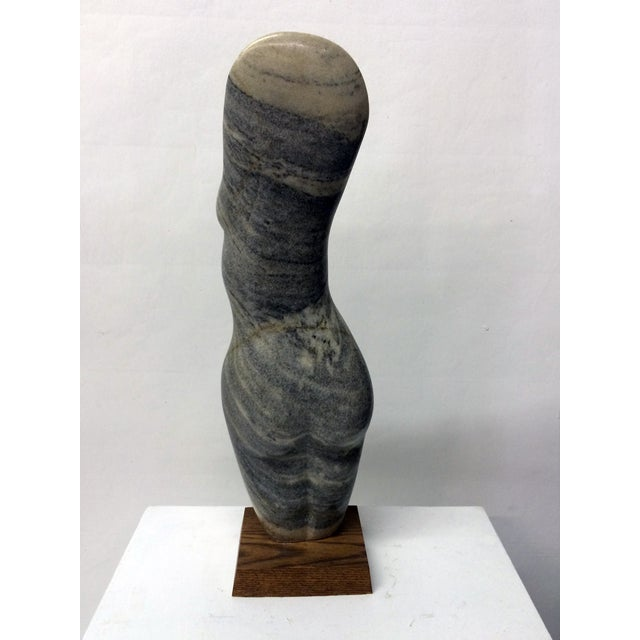 Image of Vintage Female Nude Marble Sculpture by John Cody
