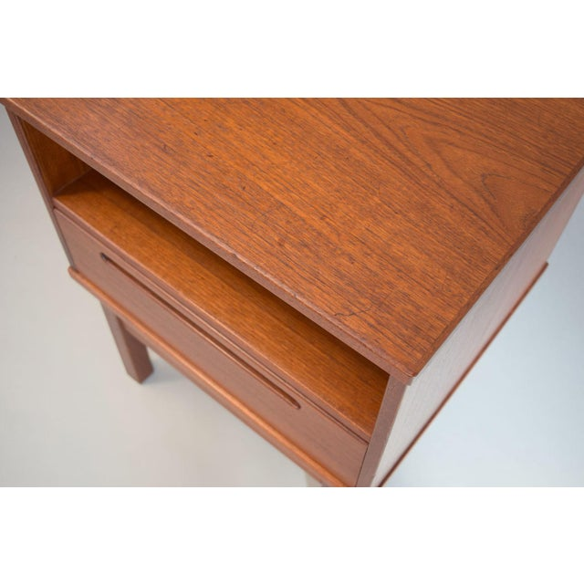 Nils Jonsson Teak Nightstand or Side Table - Image 6 of 8