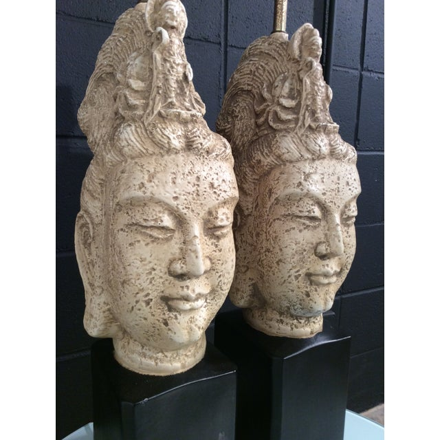 James Mont Buddha Lamps - A Pair - Image 9 of 11