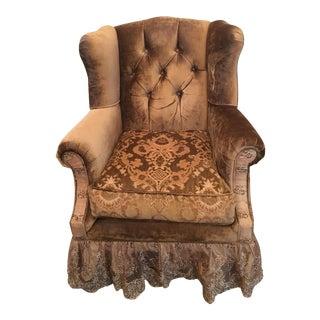 Marge Carson Tufted Chair