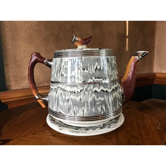 1930s Arthur Wood Silver Shield Teapot - Image 2 of 11