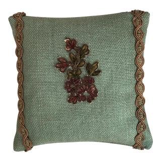 Custom Appliqued Lavender Sachet