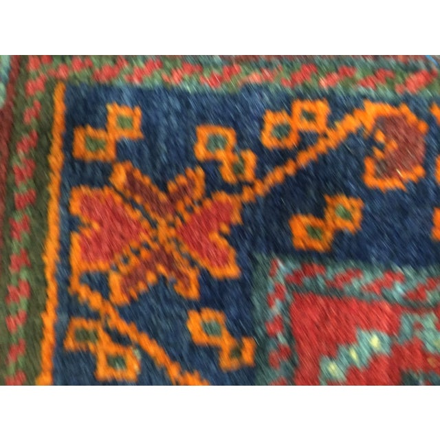 """Vintage Red Persian Rug - 1'11"""" x 2'4"""" - Image 8 of 9"""