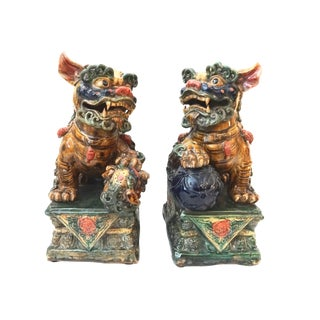 Foo Dogs - A Pair