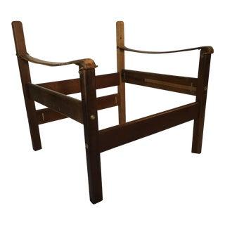 Vintage Safari Campaign Chair Frame