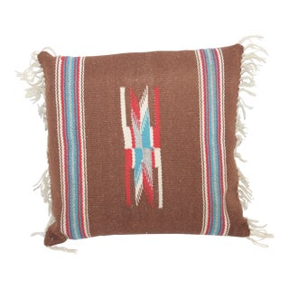 Square Navajo Weaving Pillow