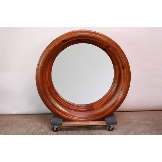 Large Wooden Porthole Mirror by Ralph Lauren - Image 2 of 4