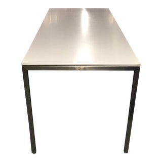 Modern Custom Steel and Corian Desk - 3 Available