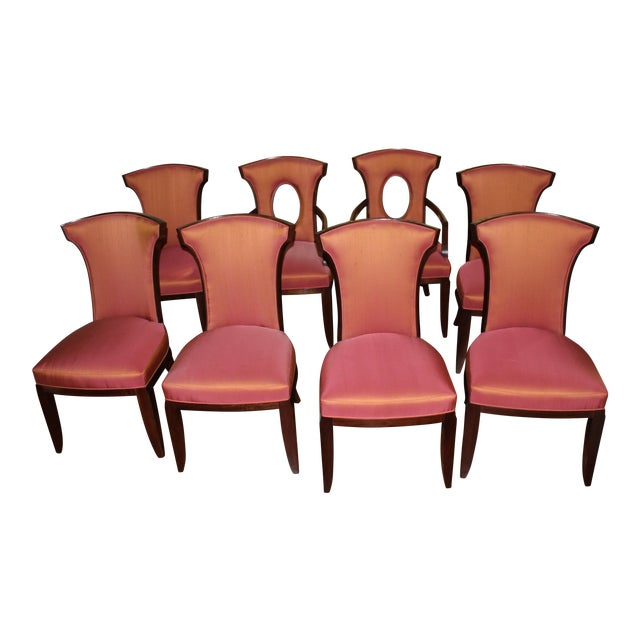 Barbara Barry Realized by Henredon Chairs - Set of 8 - Image 1 of 9