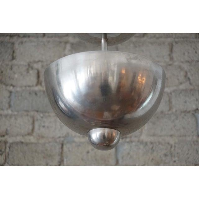 Modernist Graduated Dome Pendant - Image 4 of 6