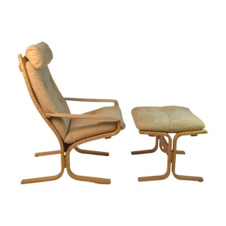Ingmar Relling Siesta Chair With Footstool