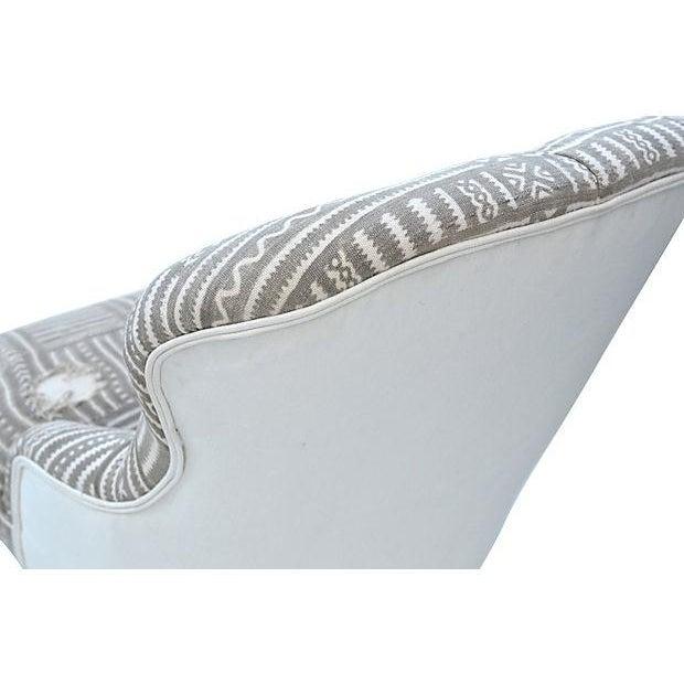 Mudcloth Boudoir Chair - Image 9 of 9