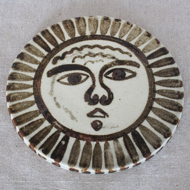 Mid-Century Sun Face Trivets by Ken Edward - Pair - Image 5 of 7