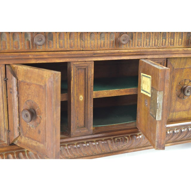 Image of 19th Century Antique Miniature Sideboard