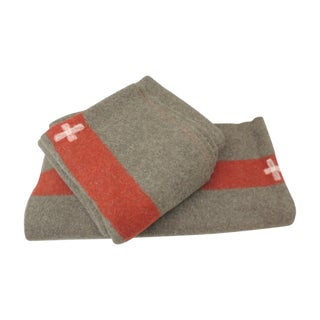 Swiss Army Blankets - Pair