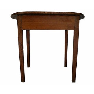 Antique Hand-Hewn Pine Table